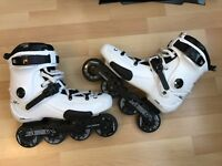 Seba FR1 2015 with DELUXE frames custom skates.