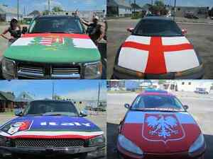 Euro Cup 2016 Car Hood Covers by Flag & Sign Depot Windsor Region Ontario image 7