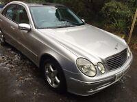 ***2003 Mercedes E320 CDI Avantgarde with Pan Roof mot & Service History *******