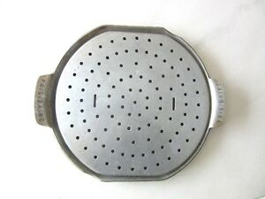 Vintage Frigidaire Aluminum Pizza Pan, Broiling Pan with Rack