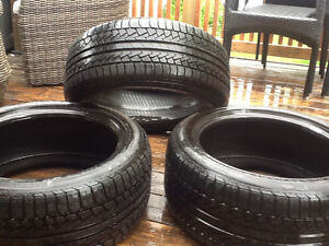 (2) New Pirelli Audi summer tires + (1) extra used Pirelli tire