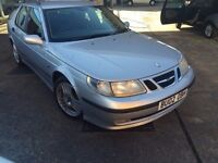 Saab 9-5 2.2 TiD Vector Sport 4dr estate Diesel Manual cheap tax months mot only 599