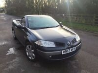 Renault Megane convertible+auto+black+fully loaded