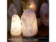 Himalayan Natural Salt Lamp White 2-3kg Ionizer Mount Pleasant Melville Area Preview