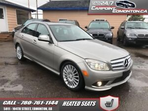 2008 Mercedes Benz C-Class C230..LOW LOW KMS ONLY 92970!!! LOADE