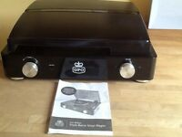 GPO style retro vinyl / record player pristine