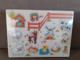 Brand new in packaging- Wooden puzzle