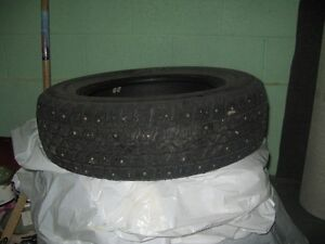 4 Studed snow tires for sale (New) St. John's Newfoundland image 2