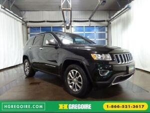 2016 Jeep Grand Cherokee LIMITED CUIR TOIT CAMÉRA SIEGES CHAUFFA