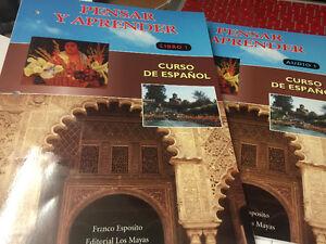 Pensar Y aprender by Franco Esposito Spanish  textbook & Audio Kingston Kingston Area image 1