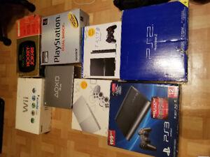 Collection de jeux video