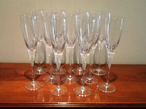 Champagne Chrystal Flutes