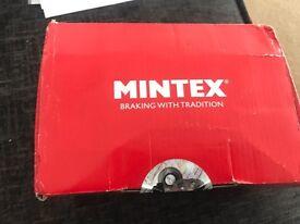 Mintex break pads