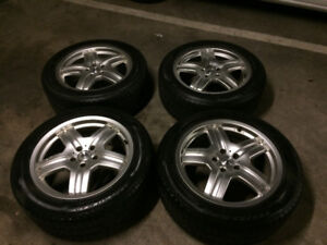 "SUV 19"" Rims with Winter tires"