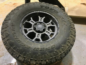 Toyo A/T tires and rims