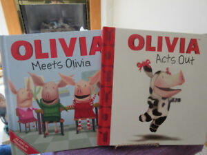 2 Olivia the Pig Board Books - Both like new