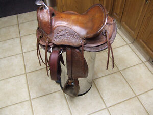 12 inch kids saddle
