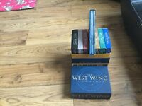 Full unopened west wing did box set