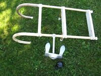 anchor, ladder, cannonball