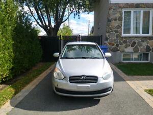 Hyundai Accent 2009 manuelle 4 portes