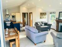 Lodge for sale on a golf & country club park, 99 year lease, 12 month season