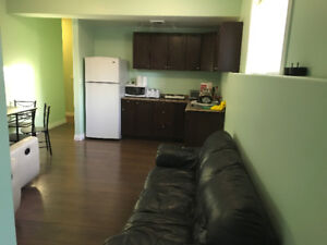 Rooms available immediately in furnished basement,all inclusive