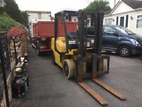 Yell 4 and a half tone diesel forklift truck year 2011 conpack spec excellent working Order