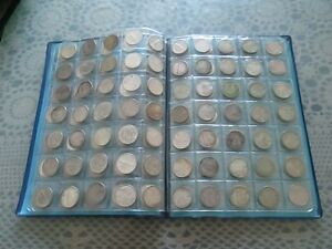 GIANT SILVER COIN COLLECTION for sale