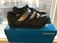 Brand new Shimano cycle / spin shoes