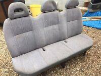 Ford Transit Rear Bench Seat