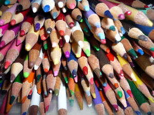 358 Colored Pencils .. As shown .. Tote included .. Cambridge Kitchener Area image 2