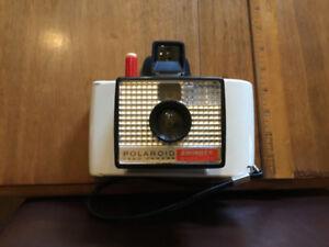 "Cool vintage Polaroid ""Swinger"" instant Land Camera."