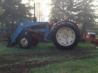 Acerage tractor