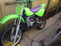 Kx 85 swaps for a 125