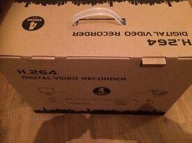 4 camera HD CCTV system - brand new in box
