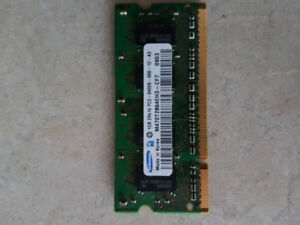 Cartes memoire Laptop Memories, DDR2, 1GB PC2-6400