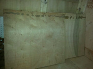 $9 per 3/4in x 5ft x 2.5ft Plywood Sheet