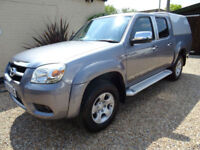 MAZDA BT-50 3.0TD 4x4 ( 156PS ) DOUBLE CAB AUTO INTREPID FULL LEATHER NO VAT