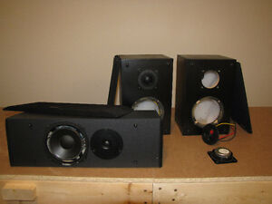 Speakers - for parts/box/cabinet