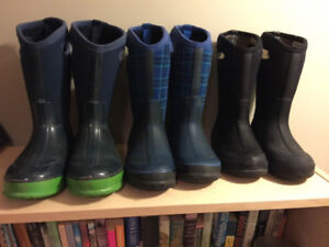 BOGS Winter Boots - 3 PAIRS
