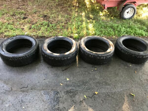 4 pneu Hiver /. 4 winter tires / 255 50R19