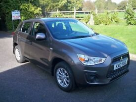 Mitsubishi ASX 1.6 ATTIVO FULL MAIN DEALER HISTORY AIR CONDITIONING METALLIC PAINT (brown) 2013