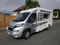 Elddis Majestic 125 fabulous 2 berth fixed bed motorhome just over 12 months old