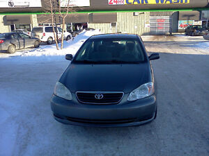 SINGLE OWNER-2005 TOYOTA COROLLA FOR SALE