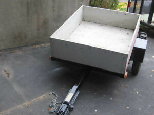 Light Weight Trailer - Ideal for compact car.