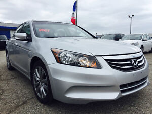 2012 Honda Accord EX-L| SDN |Leather Seats|Sunroof |94Km