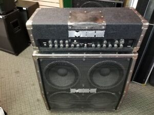 Fender Metalhead MH-500 Head w/Cabinet and Foot Pedal