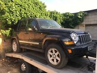 Jeep Cherokee Limited Crd 2.8 Diesel Automatic Spares/Repairs Non Runner