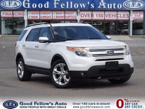 2014 Ford Explorer LIMITED, 6 PASS, 4WD, LEATHER, 6CYL, AUTO PAR