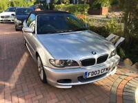 2003 03 BMW 330 CI SPORT CONVERTIBLE E46